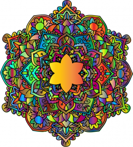 colored mandala