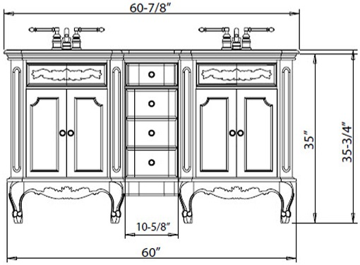 Admirable What Is The Best Standard Height Of A Bathroom Vanity Download Free Architecture Designs Scobabritishbridgeorg