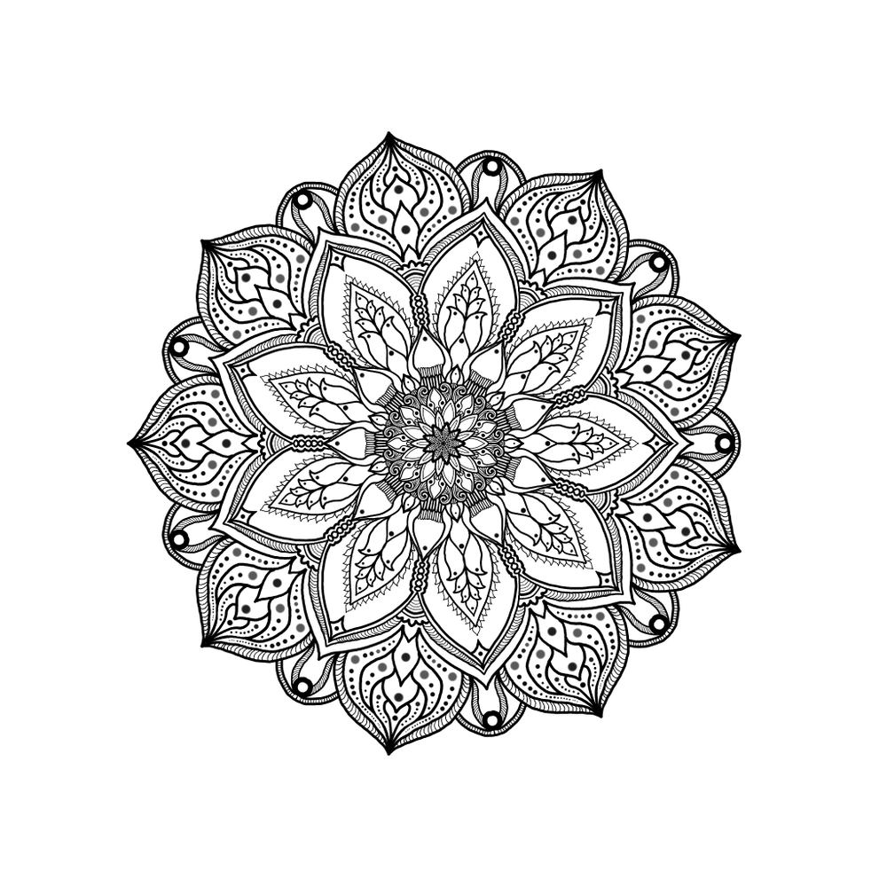 What Does Mandala Flower Mean Maggiescarf