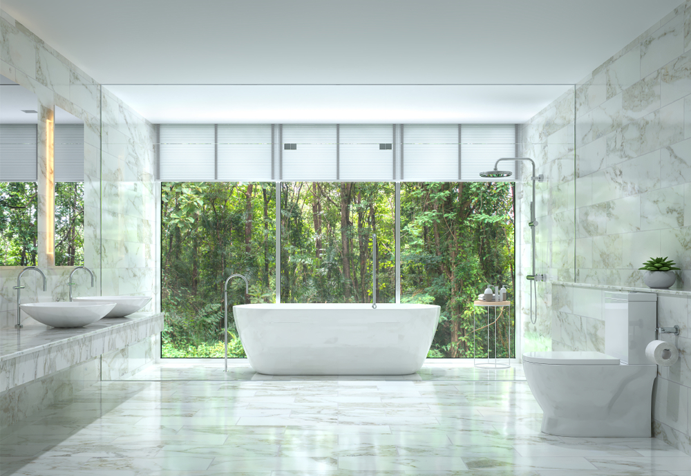 Contemporary Dream Bathrooms Decoration