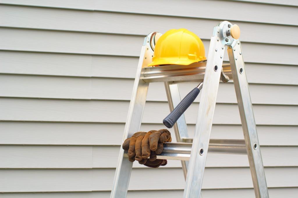 House siding renovation