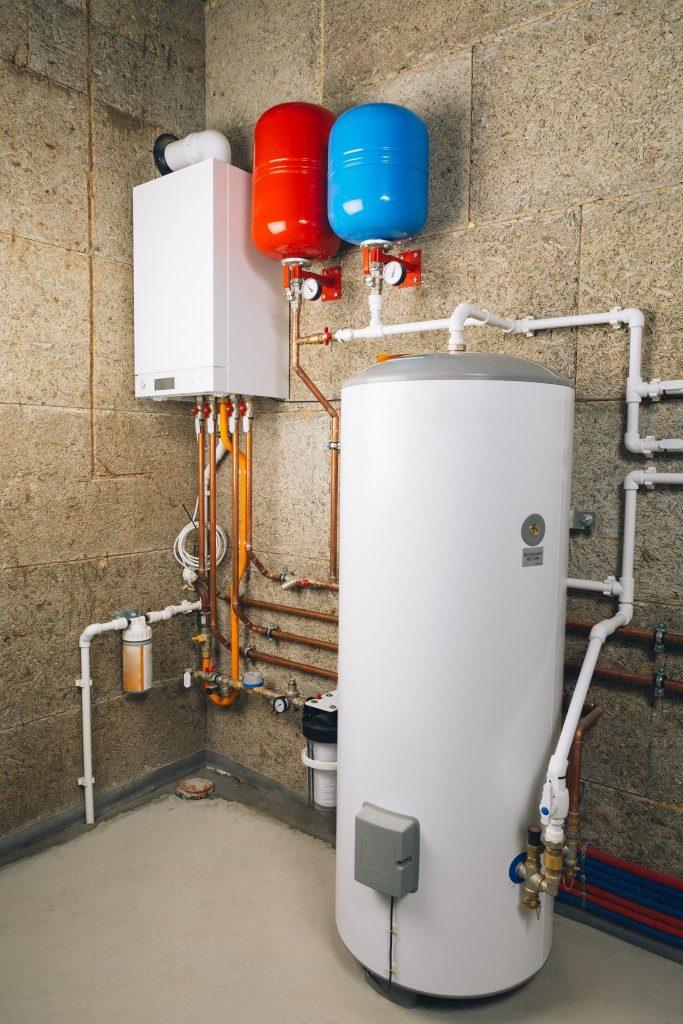 a boiler room