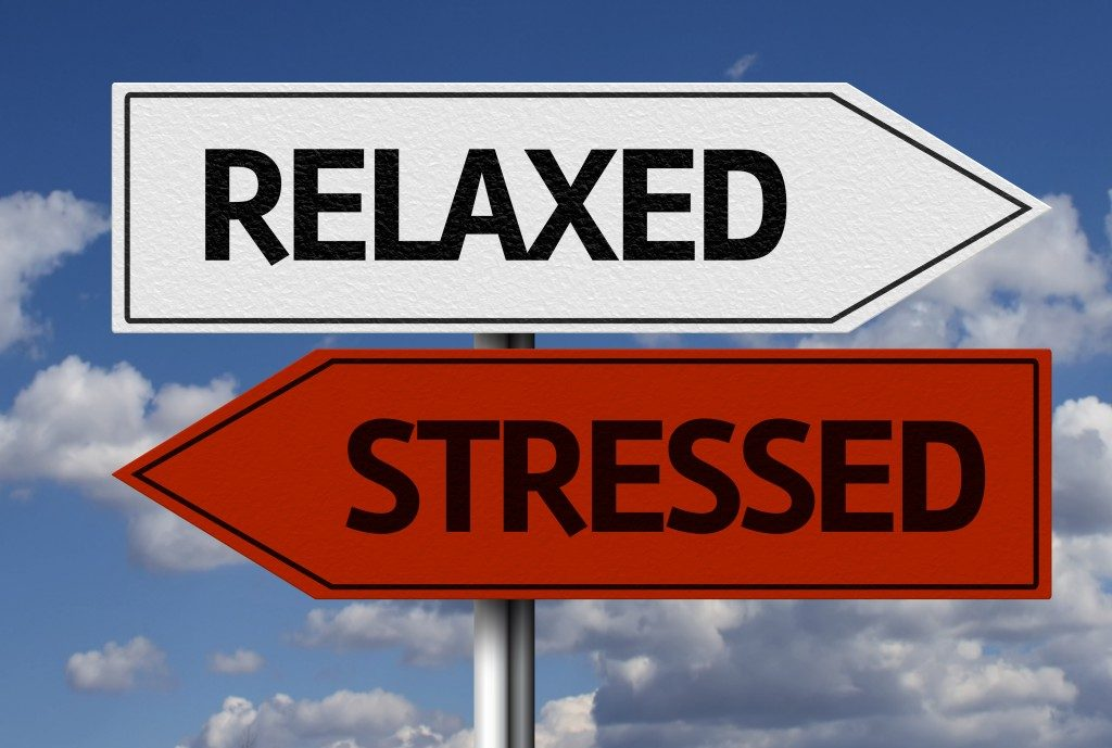 Relaxed and stressed signs