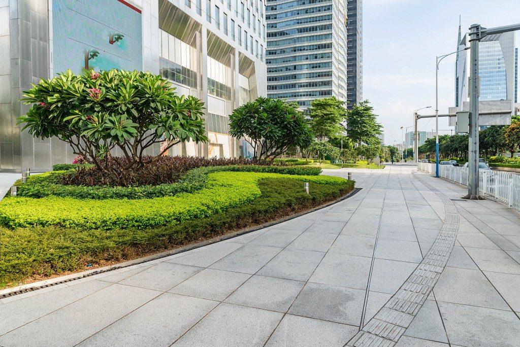 Commercial building concept