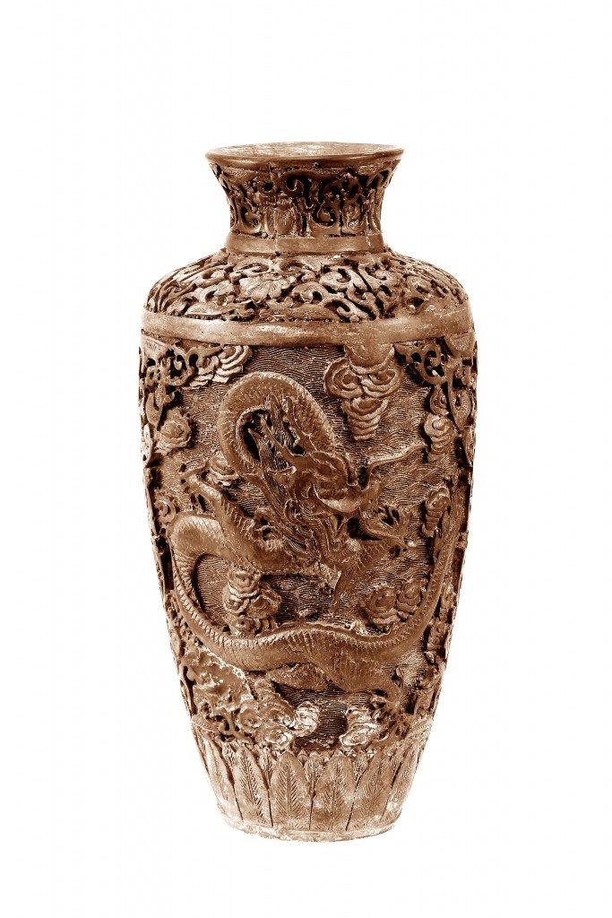 Old antique pot