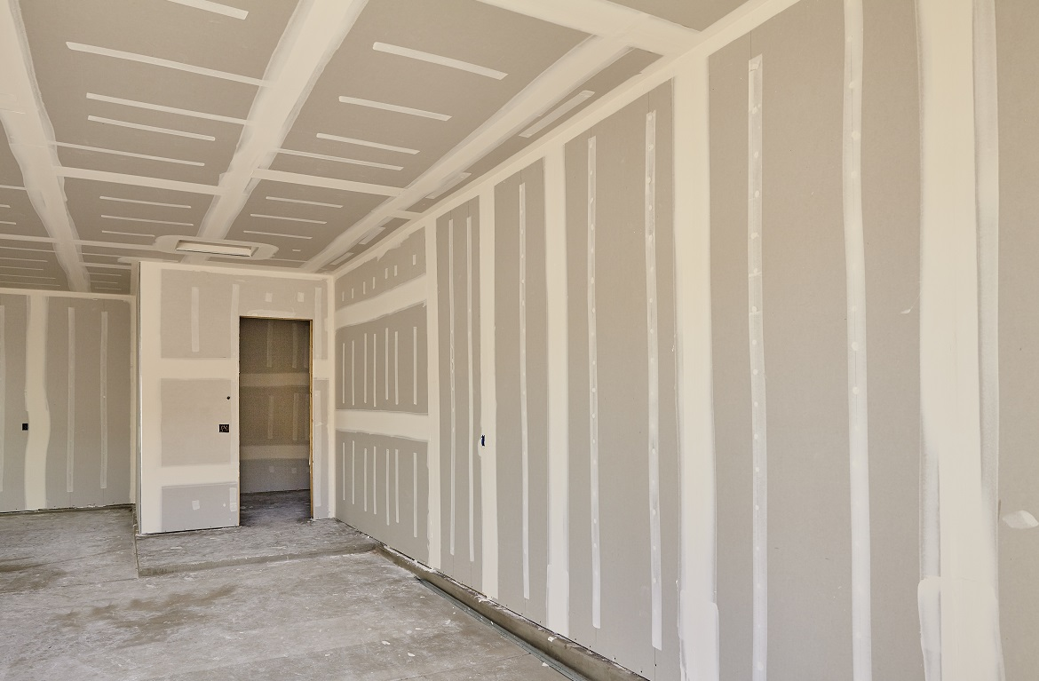 Home construction drywall