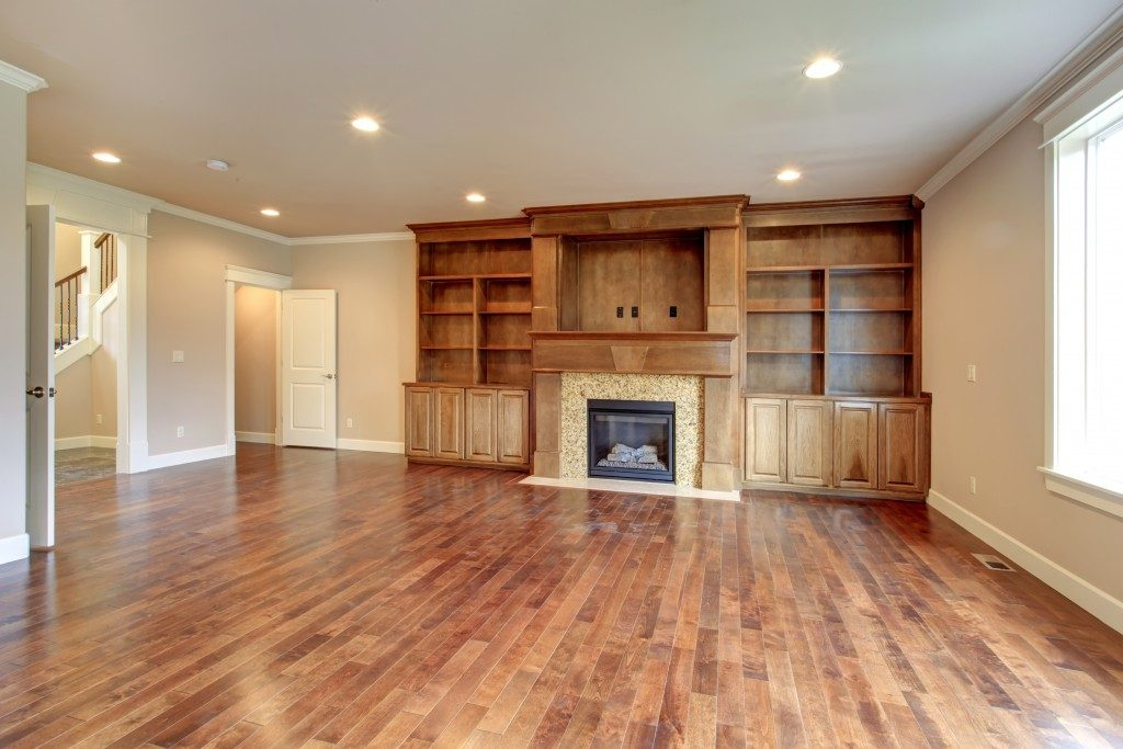 house with hardwood floor
