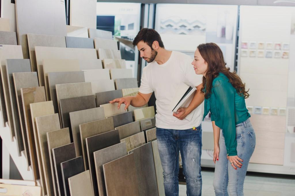 shopping for tiles