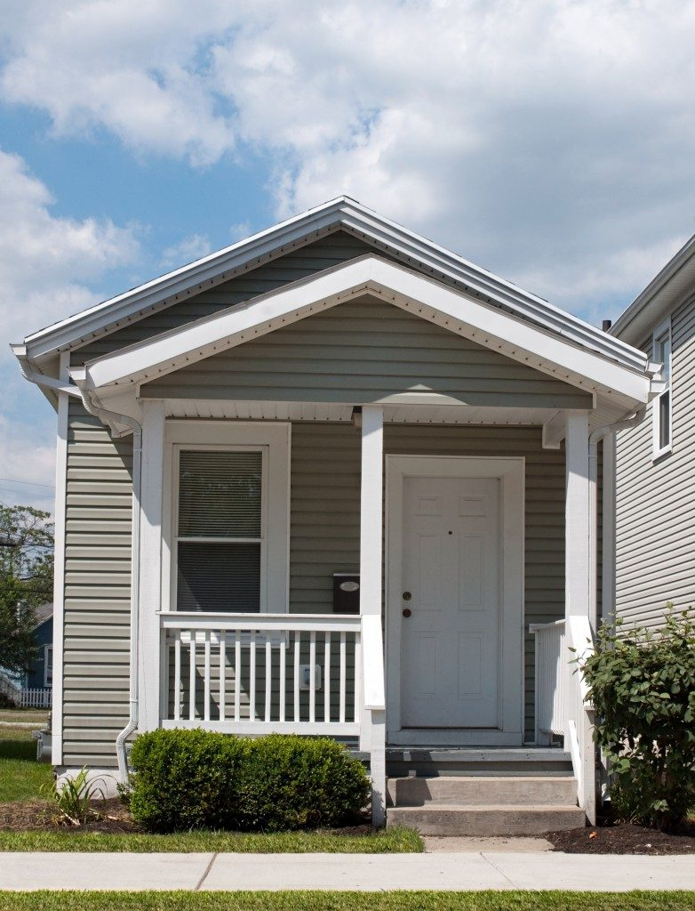 Small suburban home