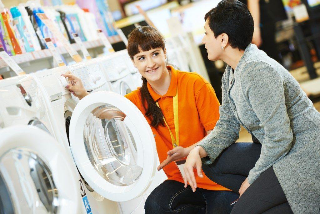 shopping for a washing machine