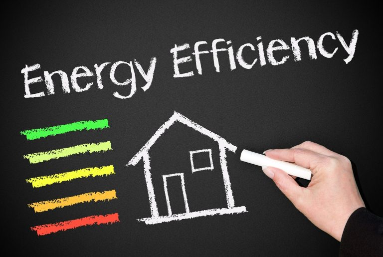 home energy efficiency concept