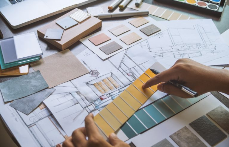 house blueprint and planning