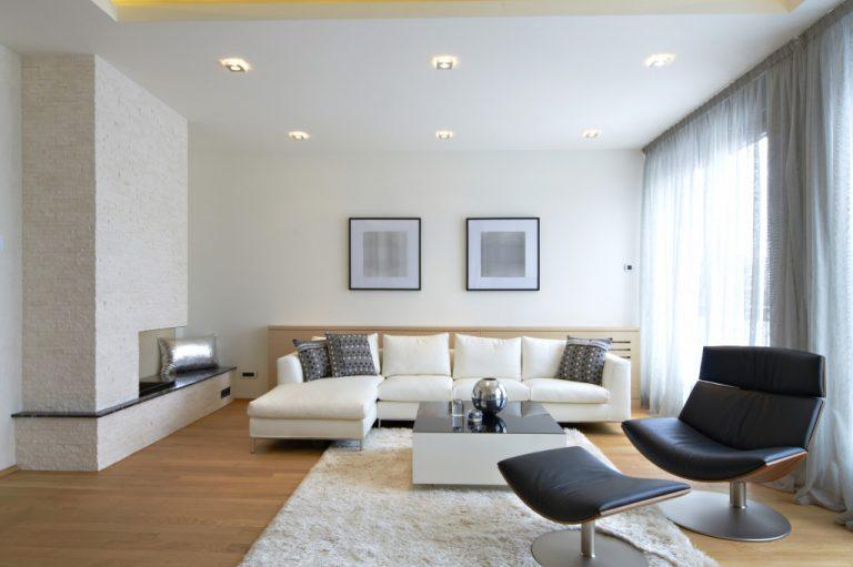 modern clean home