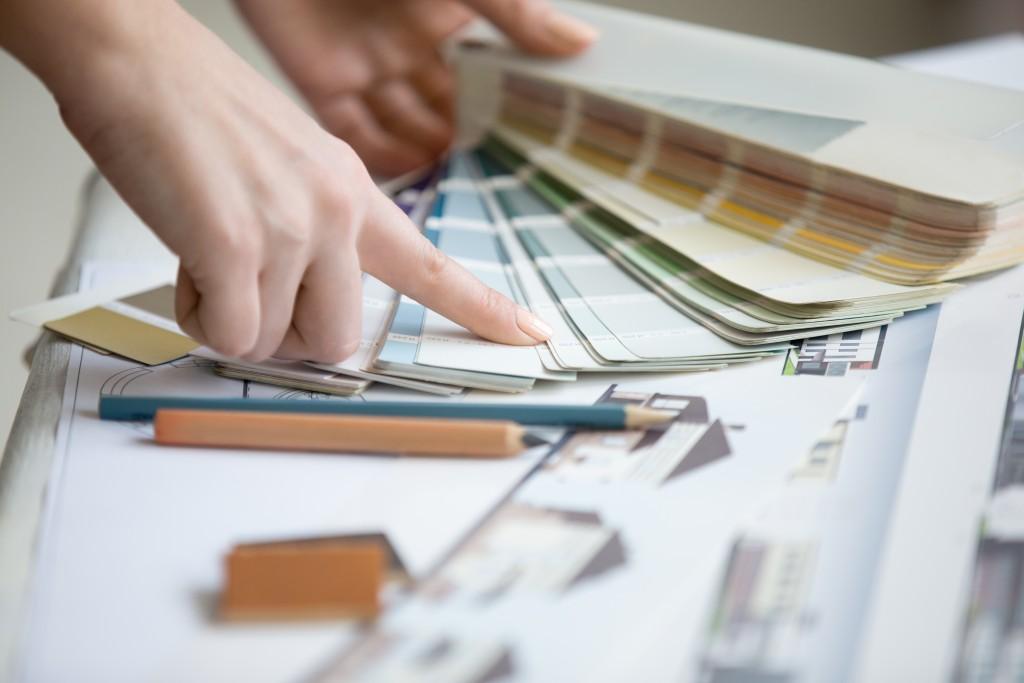 choosing a wall color