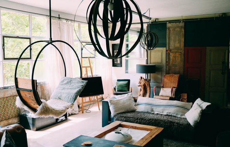 artistic-living-room