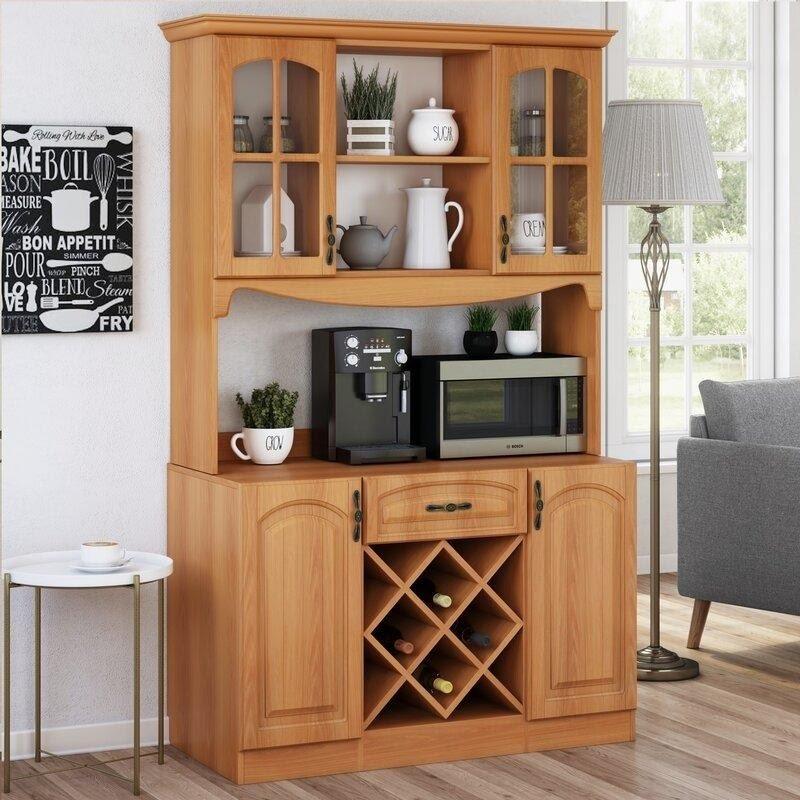 classic-wooden-kitchen-hutch