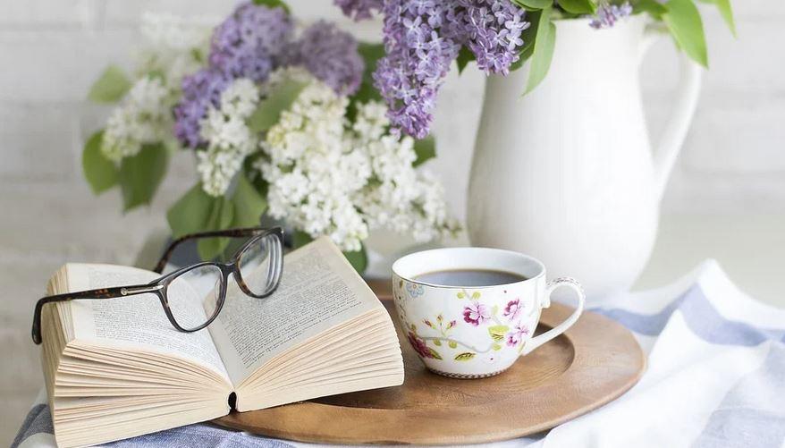 coffee-book-flowers